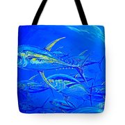 Tuna School Tote Bag