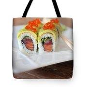 Tuna Sushi With Caviar  Tote Bag