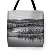 Tundra Pond Reflections Tote Bag