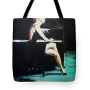 Tuning Out Tote Bag