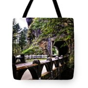 Tunnel In The Mountain Tote Bag
