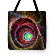 Tunnel Of Lights Tote Bag