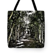 Tunnel Of Trees ... Tote Bag