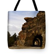 Tunnel Road Tote Bag