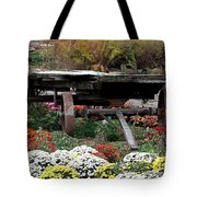 Tunnel To Fall Tote Bag