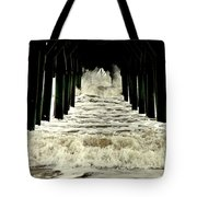 Tunnel Vision Tote Bag by Karen Wiles