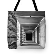 Tunnel Vision Palm Springs City Hall  Tote Bag
