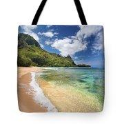 Tunnels Beach Bali Hai Point Tote Bag