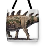Tuojiangosaurus Multispinus Dinosaur Tote Bag