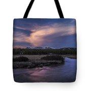 Tuolumne Meadows Sunset Tote Bag