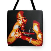 Tupac Pray For A Brighter Day Tote Bag