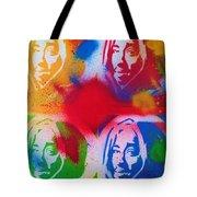 Tupac V Warhol Tote Bag