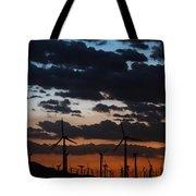 Turbine Sunset Tote Bag