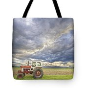 Turbo Tractor Country Evening Skies Tote Bag by James BO  Insogna