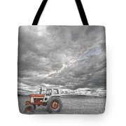 Turbo Tractor Superman Country Evening Skies Tote Bag