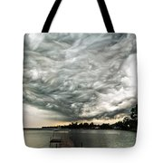 Turbulent Airflow Tote Bag
