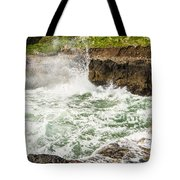 Turbulent Devils Churn - Oregon Coast Tote Bag