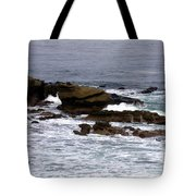 Waves Crashing Into La Jolla Shores Tote Bag