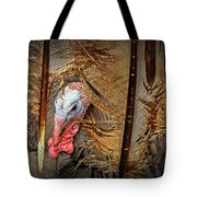 Turkey And Feathers Tote Bag
