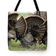 Turkey Butt Strut Tote Bag