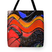 Turkey Dinosaur In Hill Country Tote Bag