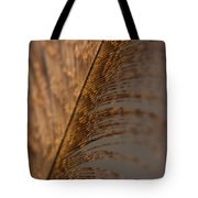 Turkey Feather Tote Bag