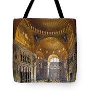Turkey: Hagia Sopia, 1852 Tote Bag by Granger