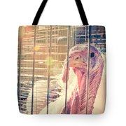 Turkey In The Cage Tote Bag