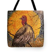 Turkey In The Moonlight Tote Bag