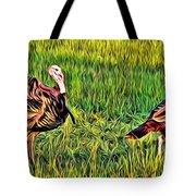 Turkey Pair Tote Bag