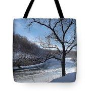 Turkey River Tote Bag
