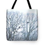 Turkey Tree Tote Bag