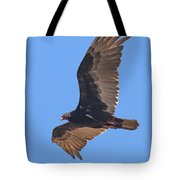 Turkey Vulture Soaring Overhead Drb153 Tote Bag