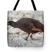 Turkey With Apple Stuffing Tote Bag