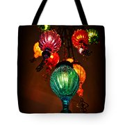 Turkish Lights Tote Bag