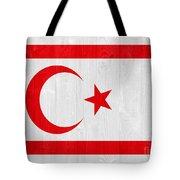 Turkish Republic Of Northern Cyprus Flag Tote Bag