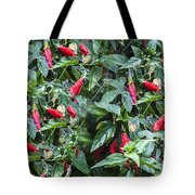Turks Cap And Rain Drops Tote Bag