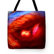 Turmoil On Planet Earth Tote Bag