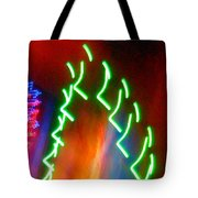 Turmoil On The Green Planet Tote Bag