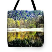 When Nature Is Turned Upside Down  Tote Bag