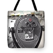 Turn To Clear The Boardwalk Tote Bag