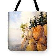 Turnagain Rocks Tote Bag