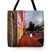 Turnage Theater Grand Opening Tote Bag