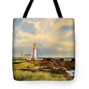 Turnberry Golf Course 9th Tee Tote Bag
