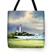 Turnberry Golf Course Scotland 10th Green Tote Bag