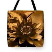 Turned To Gold Tote Bag