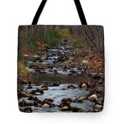 Turner Falls Stream Tote Bag