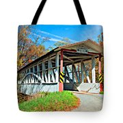 Turner's Covered Bridge Tote Bag