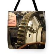 Turning Gear Engine Room Queen Mary 02 Tote Bag