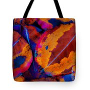 Turning Leaves 5 Tote Bag by Stephen Anderson